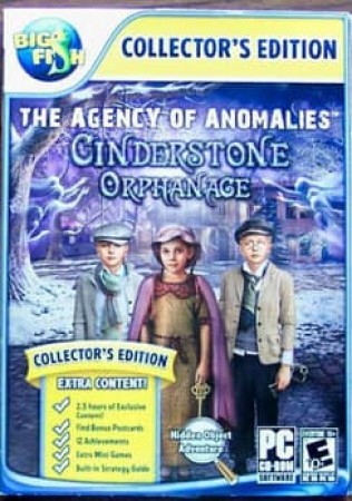 AGENCY OF ANOMALIES:CINDERSTONE ORPHANGE CE NLA