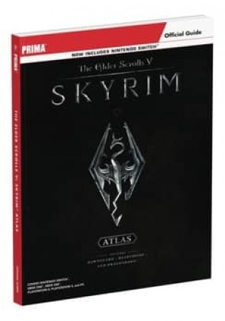 ELDER SCROLLS V SKYRIM ATLAS & ART GALLERY PLATINUM EDITION GUIDE