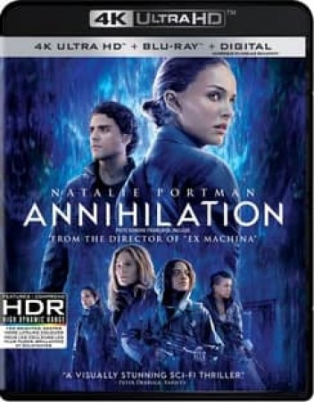 ANNIHILATION (4K UHD BLU-RAY) (2 DISC)