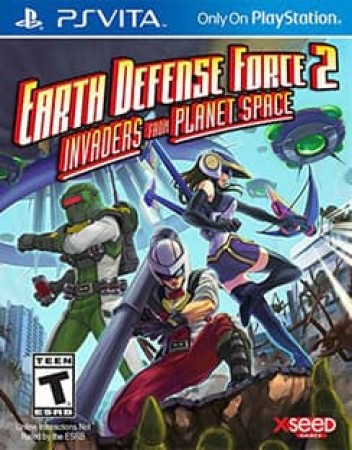EARTH DEFENSE FORCE 2:INVADERS FROM PLANET SPACE