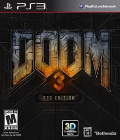 DOOM 3 BFG EDITION WITH POSTER