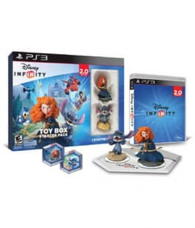 INFINITY 2.0 TOYBOX STARTER PACK-PS3-NLA