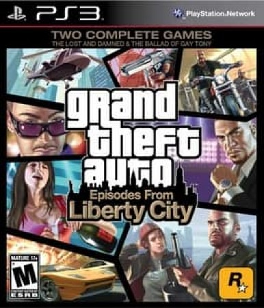 GRAND THEFT AUTO EPISODES FROM LIBERTY CITY-NLA
