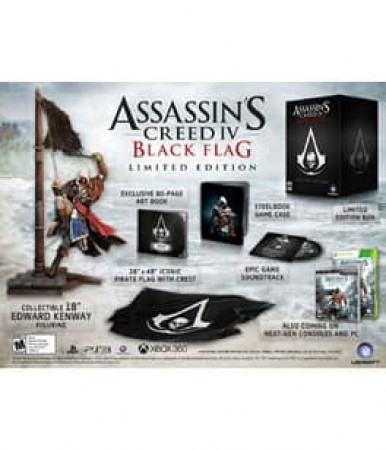 ASSASSINS CREED IV: BLACK FLAG LIMITED EDITION