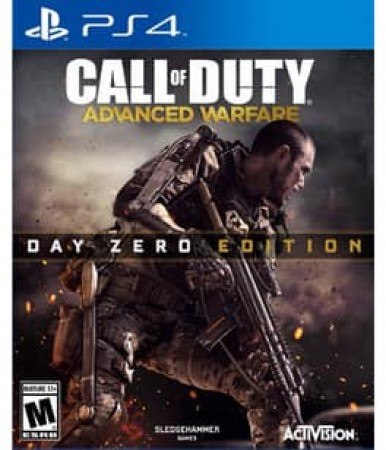 CALL OF DUTY:ADVANCED WARFARE DAY ZERO EDITION (M) NLA