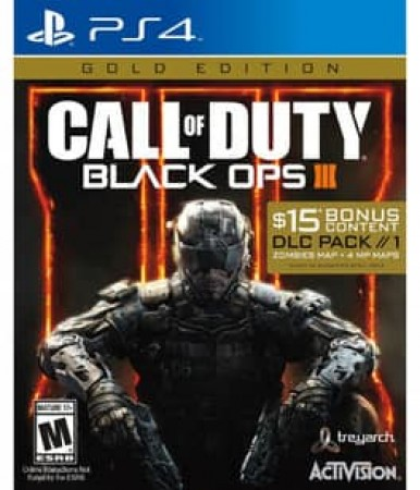 CALL OF DUTY:BLACK OPS 3 GOLD EDITION NLA