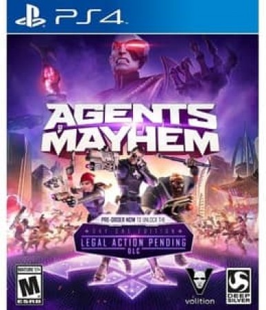 AGENTS OF MAYHEM (LAUNCH) NLA
