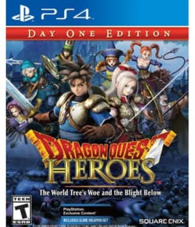 DRAGON QUEST HEROES:WORLD TREES WOE & BLIGHT BELOW (REPLEN)