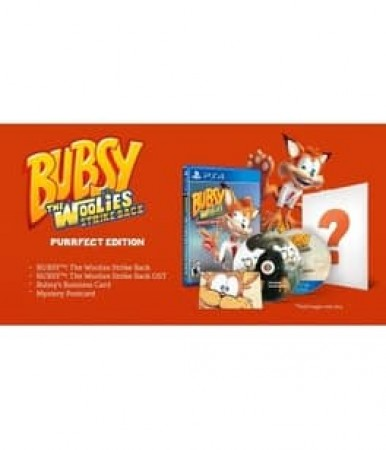 BUBSY: THE WOOLIES STRIKE BACK LIMITED EDITION-NLA
