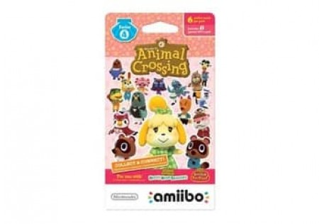 ANIMAL CROSSING CARDS-6 PACK-SERIES 4-NLA
