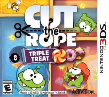 CUT THE ROPE:TRIPLE THREAT