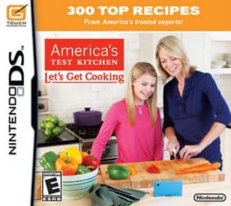 AMERICAS TEST KITCHEN LET'S GET COOKING-NLA