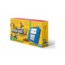 2DS HARDWARE ELECTRIC BLUE 2 WITH SUPER MARIO BROS 2(PRE-LOADED)-NLA