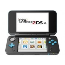 2DS XL HARDWARE BLACK & TURQUOISE(AC ADAPTER INCLUDED)-NLA