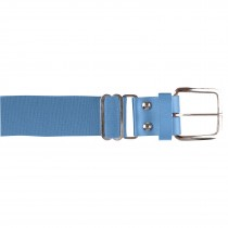 Brute Baseball Belt; Leather Tab; Light Blue; Adult