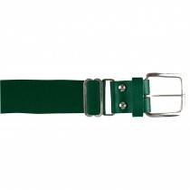 Brute Baseball Belt; Leather Tab; Forest Green; Adult