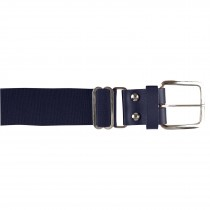 Brute Baseball Belt; Leather Tab; Navy; Adult