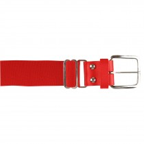 Brute Baseball Belt; Leather Tab; Orange; Adult