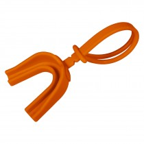 Mouthguard w/Strap; Orange