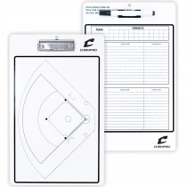 Baseball / Softball Coach's Board - Dry Erase With Marker