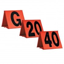 7on7 Ftbll Yard Markers; 2-G, 2-20, 1-40