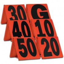 Weighted Football Yard Markers