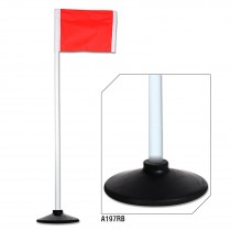 Corner Flags with Rubber Bases (Set of 4)