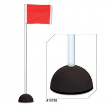 Corner Flags with Sand Bases (Set of 4)