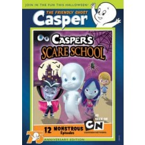 CASPERS SCARE SCHOOL-12 MONSTROUS EPISOEDS 75TH ANNIVERSARY (DVD)-NLA