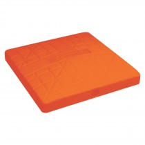 "The Hall 15""x3"" Molded Base; Orange; EA"