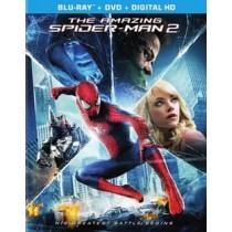 AMAZING SPIDERMAN 2 (2014 BLU-RAY DVD COMBO ULTRAVIOLET 2 DISC)
