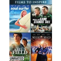 ABELS FIELD MIGHT MACS SOUL SURFER WHEN THE GAME STARTS TALL (DVD 2 DISC)