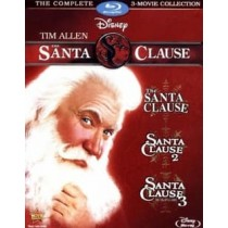 SANTA CLAUSE 3-MOVIE COLLECTION (BLU-RAY 3 DISC ENG-FR-SP SUB)