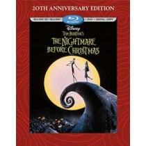 NIGHTMARE BEFORE CHRISTMAS-20TH ANNIVERSARY (BR/DVD/DC/3D/3 DISC) (3-D)