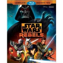 STAR WARS REBELS-COMPLETE SEASON 2 (BLU-RAY 3 DISC)