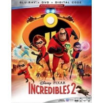 INCREDIBLES 2 (2BLU-RAY DVD DIGITAL) (3 DISC)
