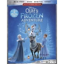 OLAF'S FROZEN ADVENTURE PLUS 6 DISNEY TALES (BLU-RAY DVD DIGITAL)(2 DISC)