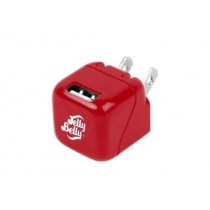 JELLY BELLY 1 PORT 1 AMP WALL CHARGER VERY CHERRY