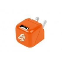 JELLY BELLY 1 PORT 1 AMP WALL CHARGER TANGERINE