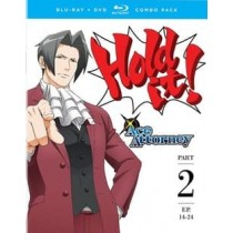 ACE ATTORNEY-PART TWO (BLU-RAY DVD COMBO 4 DISC)