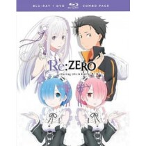 RE:ZERO-STARTING LIFE IN ANOTHER WORLD-S1P1 (BLU-RAY DVD COMBO 4 DISC)