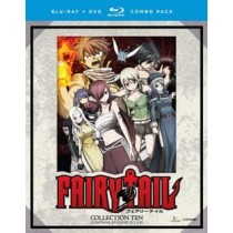 FAIRY TAIL-COLLECTION TEN (BLU-RAY/DVD COMBO/8 DISC)