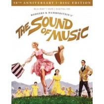 SOUND OF MUSIC-50TH ANNIVERSARY (BLU-RAY DVD CD DIGITAL HD 5 DISC UCE)