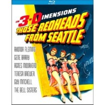 THOSE REDHEADS FROM SEATTLE (BLU-RAY 1953 3D WS 1.66) (3-D)