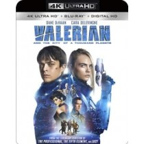 VALERIAN & THE CITY OF A THOUSAND PLANETS (BLU RAY/4KUHD/UV/DIG HD)