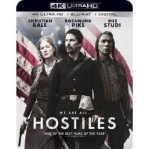 HOSTILES (BLU-RAY 4KUHD UV DIGITAL HD)