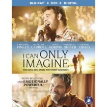I CAN ONLY IMAGINE (BLU RAY DVD W DIGITAL) (SPAN SUB)
