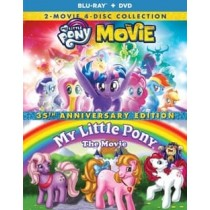 MY LITTLE PONY 35TH ANNIVERSARY COLLECTION (BR DVD)