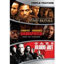 ACTION TRIPLE FEATURE (DVD) (WS ENG SPAN ENG SDH)