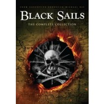 BLACK SAILS S1-S4 COLLECTION (DVD)